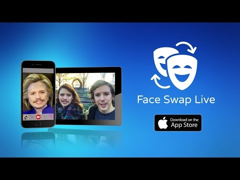 Face Swap Live - iOS app to switch faces with friends & photos in live video