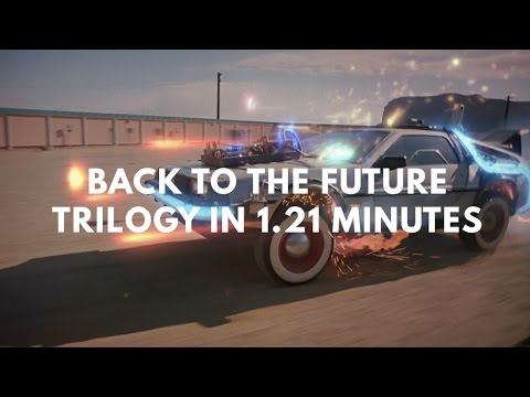 Back to the Future Trilogy in 1.21 Minutes
