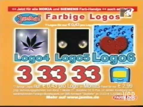 Nerviger Werbeblock MTV 2003