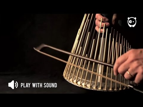 Instrument that produces sound in horror movies