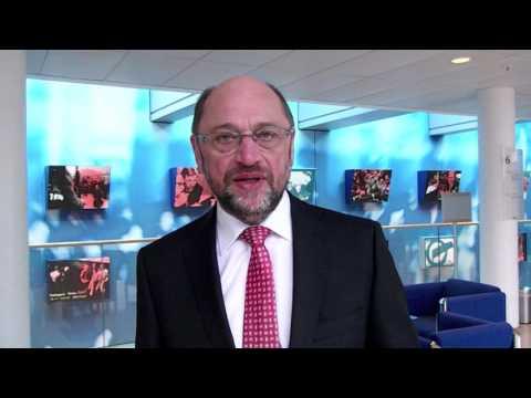 Grußwort von Martin Schulz an /r/the_schulz auf reddit.com