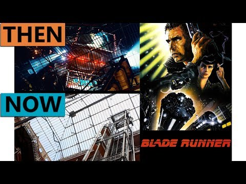 Blade Runner Filming Locations | Then & Now 1981 Los Angeles (fake 2019 vs real 2019)