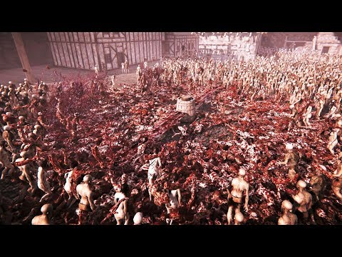 10,000 Zombies Vs Giant Blender - The Black Masses(Dismemberment Demo)