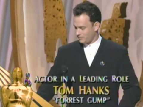 Tom Hanks Wins Best Actor: 1995 Oscars
