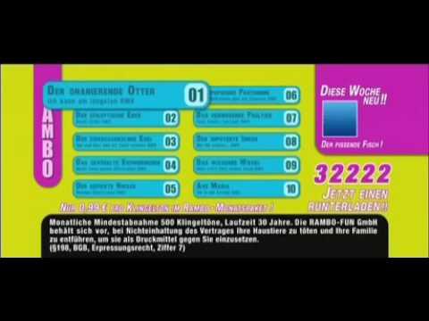 Unglaublich!! NEUES VOM WIXXER Handy Klingelton Werbung (witzig, funny, lustig)