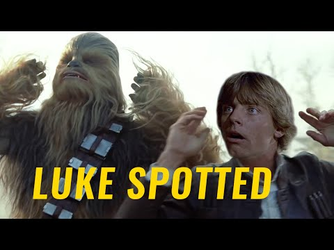 Star Wars: The Force Awakens Trailer (LUKE SKYWALKER SPOTTED!)
