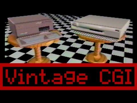 Vintage Commodore Amiga CGI Animation Reel