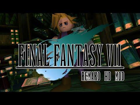 Final Fantasy VII Remako HD Graphics Mod - v1.0 Release Trailer