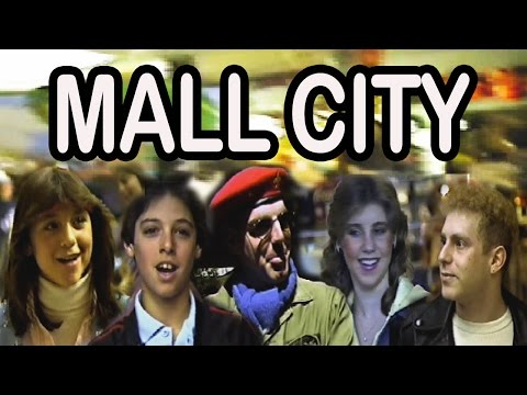 """Mall City Documentary 1983 NYU Film of Roosevelt Field Mall Culture + The Song """"Mall City"""""""