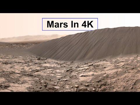 New: Mars In 4K