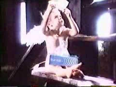 Angel girl Japanese kleenex commercial