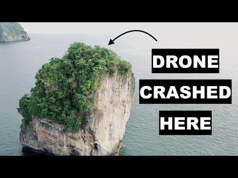 Drone Recovery Mission: Crashed My DJI Mavic 2 Pro on a Tiny Island | Thailand