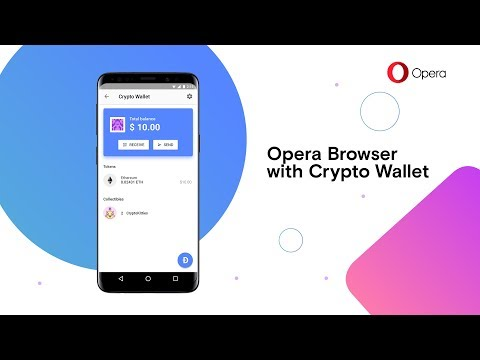 Opera introduces first browser with built-in Crypto Wallet | OPERA | BROWSER