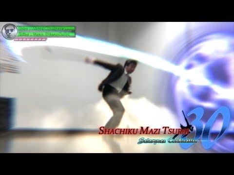 "VFX company warrior ""Shachiku Mazi Tsurai 30"". -Japanese businessman game style action 303-"