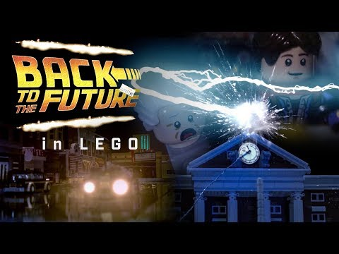 Back To The Future but it's LEGO