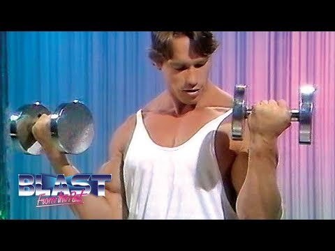 Arnold Schwarzenegger Bodybuilding Beginner Exercises | How To Build Muscle | Magpie