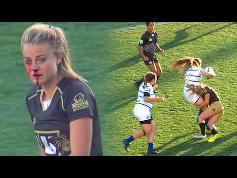 The Rugby War Goddess Georgia Page, Breaking Hearts With A Broken Nose