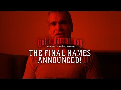Gutterdämmerung: The Final Names Announced