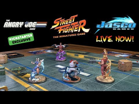 Buy My Game! Street Fighter: The Miniatures Game - LIVE NOW!
