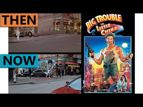 Big Trouble in Little China Filming Locations | Then & Now 1985 San Francisco Chinatown