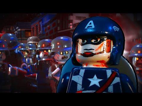 Lego Captain America 3: Nazi Zombies