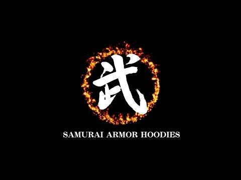 SAMURAI ARMOR HOODIES - 武者パーカー