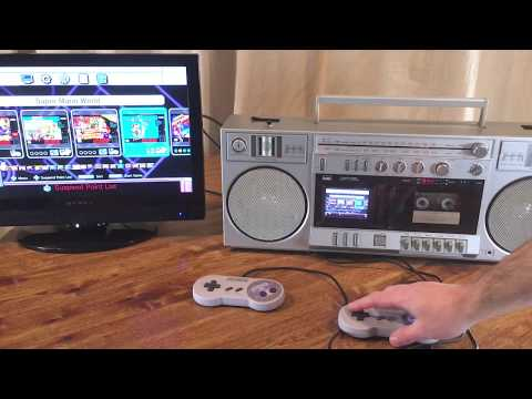 DIY Vintage Boombox with built in Super Nintendo
