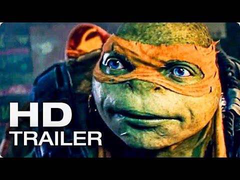 TEENAGE MUTANT NINJA TURTLES 2 Trailer German Deutsch (2016)