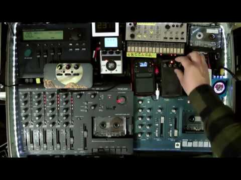 SUITCASE OF DRONE 2018 | LIVE AMBIENT TAPE LOOP SETUP