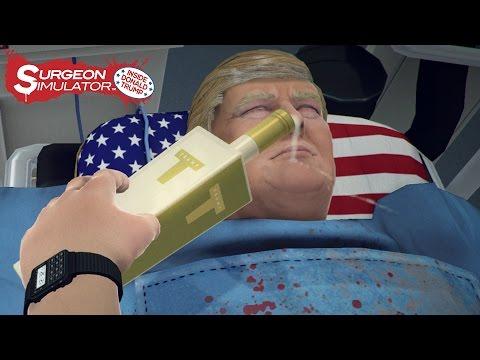 Surgeon Simulator: Inside Donald Trump (Gameplay Trailer)