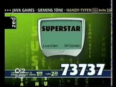 Klingeltonwerbung aus dem ''Handy-Mittelalter'' (MTV2 Pop, 2003)