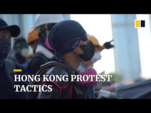 Hong Kong protest tactics: occupy, disrupt, disperse, repeat
