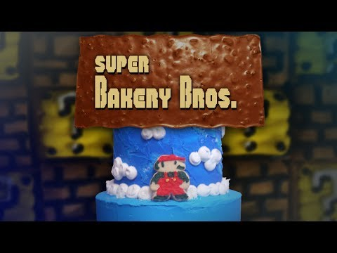 Super Bakery Bros. | A TASTY SUPER MARIO STOP MOTION