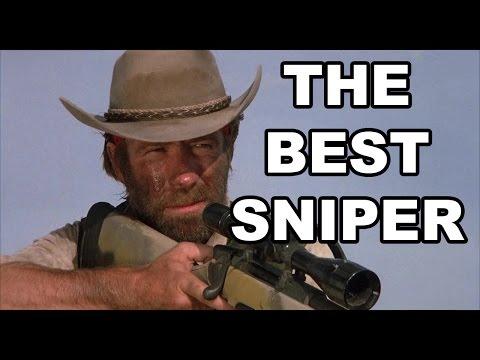 Chuck Norris Shooting Everyone