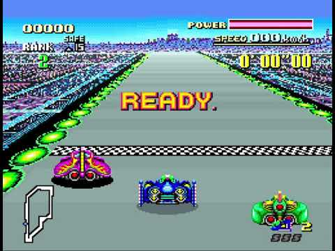 Let's Play Permadeath Speedrun #1 - F-Zero