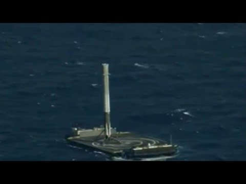 "SpaceX CRS-8 Landing - ""I'm On A Boat"""