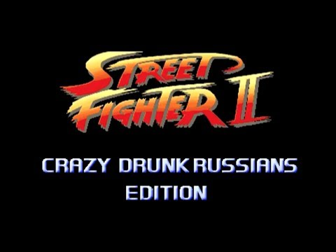 Street Fighter: Crazy Drunk Russians Edition - Marca Blanca