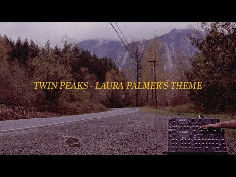 Novation Peak ambient // Twin Peaks played on Twin Peaks (at Twin Peaks)