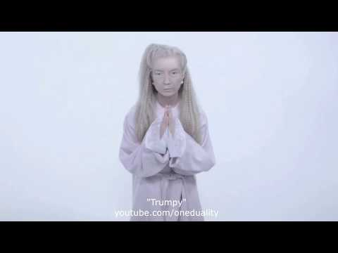 """Trump as Poppy """"I am not in a cult"""" (2 versions, one video ) [ Deepfake ]"""