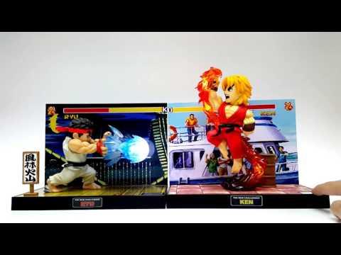 T.N.C.-01 Ryu VS T.N.C.-02 Ken