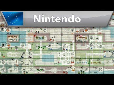 The Legend of Zelda - Original game map