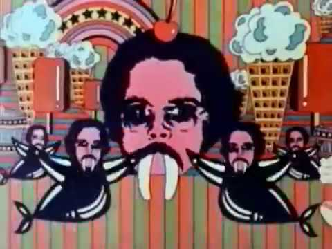 Vintage 1970s Psychedelic Pepsi Cola Drive In Theater Ad