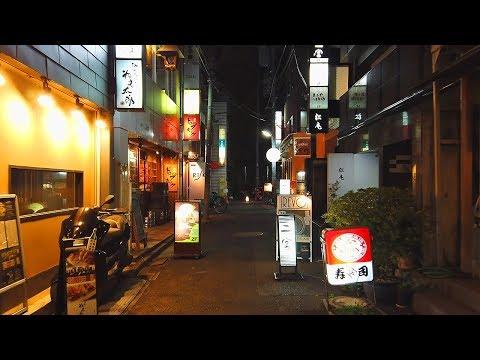 Tokyo Cool Bar Street | Shinjuku Arakicho - 4K 50fps