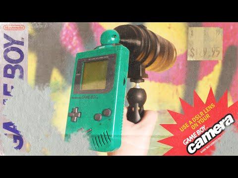 Game Boy Camera Mod + DSLR Lens (print the results onto canvas) | 3D Print Timelapse