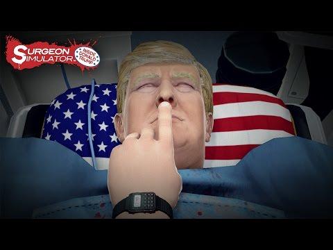 Surgeon Simulator: Inside Donald Trump (Game Trailer)