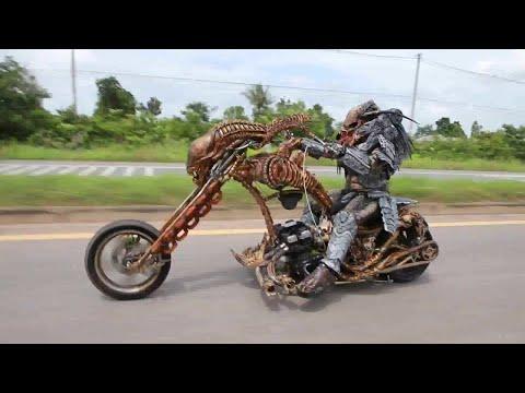 Insane Lifelike Character Chopper    ViralHog