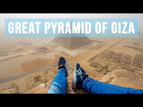 Climbing the Great Pyramid of Giza (146 metres)