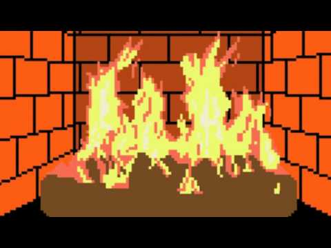 8 Bit Fireplace | 8 bit Relax | Chiptune, Chip Music