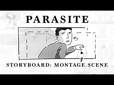 Storyboard: Parasite's Montage Scene