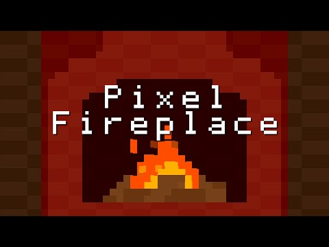 Fireplace - Pixel Animation